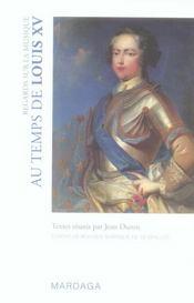 Regards sur la musique au temps de Louis XV - Intérieur - Format classique