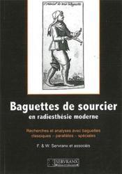 Baguettes de sourcier ; en radiesthésie moderne - Couverture - Format classique