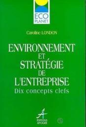 Environnement & strategie entreprise - Couverture - Format classique