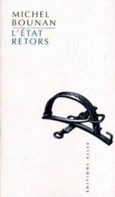 L'état retors - Couverture - Format classique
