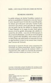 Bonbons assortis - 4ème de couverture - Format classique