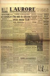 Aurore (L') N°479 du 02/03/1946 - Couverture - Format classique