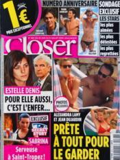Closer N°263 du 25/06/2010 - Couverture - Format classique