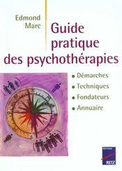 Guide Pratique Psychotherapies - Intérieur - Format classique