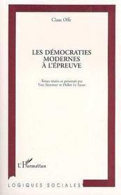 Les Democraties Modernes A L'Epreuve - Intérieur - Format classique