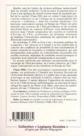 Les Democraties Modernes A L'Epreuve - 4ème de couverture - Format classique