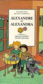 Alexandre et alexandra - Couverture - Format classique
