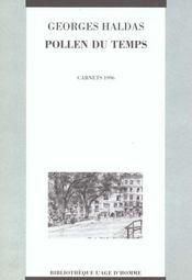Pollen Du Temps - Intérieur - Format classique