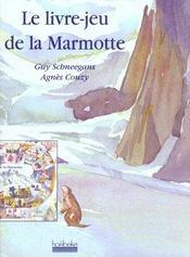 Livre jeu de la marmotte - Intérieur - Format classique