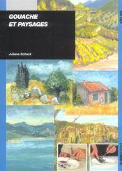 Gouache Et Paysage - Intérieur - Format classique