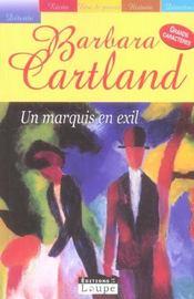 Un marquis en exil - Intérieur - Format classique