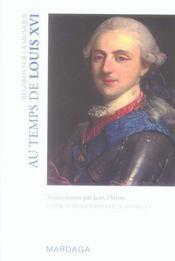 Regards sur la musique au temps de Louis XVI - Intérieur - Format classique