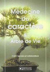 Medecine Du Caractere Et Arbre De Vie - Intérieur - Format classique