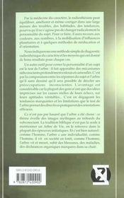 Medecine Du Caractere Et Arbre De Vie - 4ème de couverture - Format classique