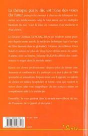 (V.2880584310) Rire, Une Merveilleuse Therapie (Le) - 4ème de couverture - Format classique
