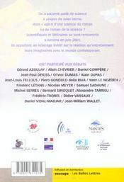 Revue Jules Verne N.16 ; Les Territoires De L'Espace - 4ème de couverture - Format classique