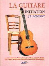 La guitare ; initiation - Couverture - Format classique