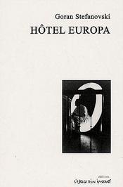 Hotel Europa - Couverture - Format classique