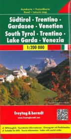 Sud Tirol-Trentino-Lake Garda-Venezia - Couverture - Format classique