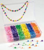 Perles fantaisie multicolores - Intérieur - Format classique