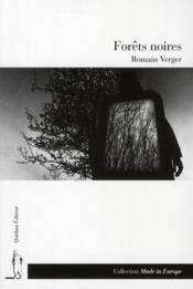 Forêts noires - Couverture - Format classique