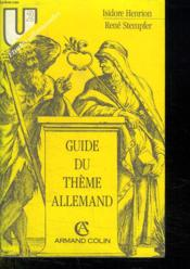 Vente livre :  Guide Theme Allemand  - Henrion
