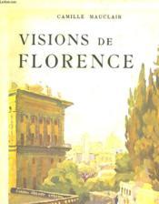 Visions De Florence - Couverture - Format classique
