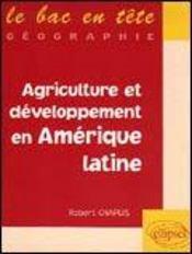 Agriculture Et Developpement En Amerique Latine - Intérieur - Format classique