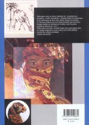 Porcelaine Creative Motifs D'Ici Et D'Ailleurs - 4ème de couverture - Format classique