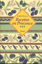 Recettes en Provence - Intérieur - Format classique