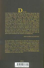 Et Autres Histoires Beiges - 4ème de couverture - Format classique