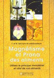 Magnetisme Et Prana Des Aliments - Intérieur - Format classique