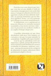 Magnetisme Et Prana Des Aliments - 4ème de couverture - Format classique
