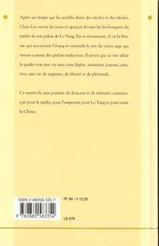 Empereur Et Le Vieux Sage (L') - 4ème de couverture - Format classique