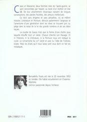 La courbe de gauss - 4ème de couverture - Format classique