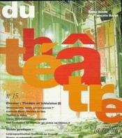 Du theatre-15 - Couverture - Format classique