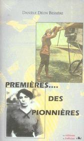 Premières des pionnières - Intérieur - Format classique
