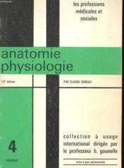 Anatomie Physiologie N°4 - Couverture - Format classique