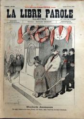 Libre Parole Illustree (La) N°103 du 29/06/1895 - Couverture - Format classique