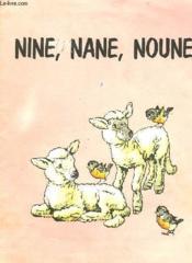 Nine Nane Noune - Couverture - Format classique
