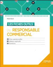 Les fiches outils du responsable commercial - Couverture - Format classique
