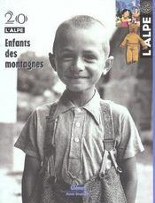 L'Alpe N.20 ; Enfants Des Montagnes - Intérieur - Format classique