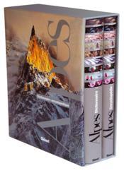 Dictionnaire encyclopédique des Alpes ; coffret t.1 et t.2 - Couverture - Format classique