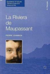 La riviera de Maupassant - Couverture - Format classique