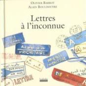 Lettres A L'Inconnue - Couverture - Format classique