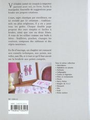 Carnet De Point De Croix Ours - 4ème de couverture - Format classique