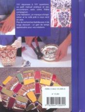 101 Astuces Mosaique - 4ème de couverture - Format classique
