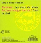 Les mots de Momo - 4ème de couverture - Format classique
