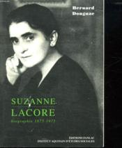 Suzanne lacore, le socialisme-femme - Couverture - Format classique