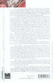 À la conquête du nanomonde ; nanotechnologies et microsystèmes - 4ème de couverture - Format classique